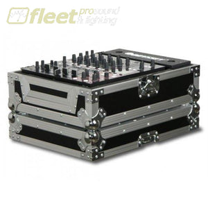 Odyssey Fz12Mix Universal 12 Inch Mixer Case -Flight Zone -Chrome On Black Mixer Cases