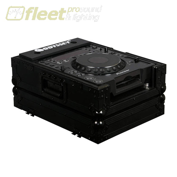 Odyssey Fzcdjbl Black Zone Cd Player Case -Holds Large Format Tabletop Cd Cases