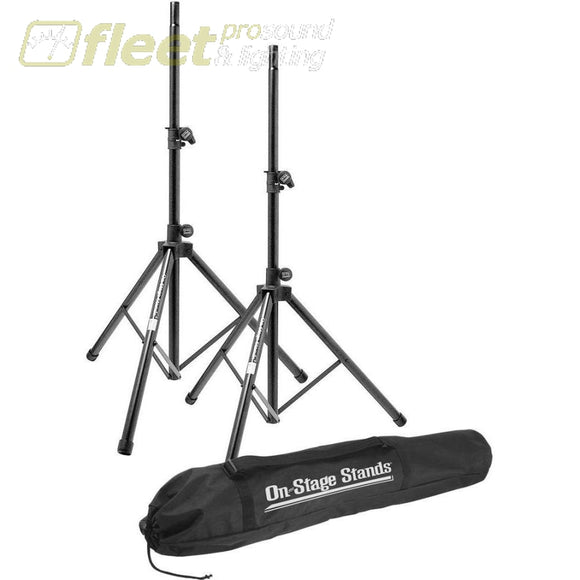 On-Stage Ssp7900 All-Aluminum Speaker Stand Pak Speaker Stands & Mounts