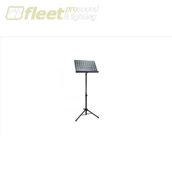 Onstage Sm7212B Music Stand Perforated Black Music Stands