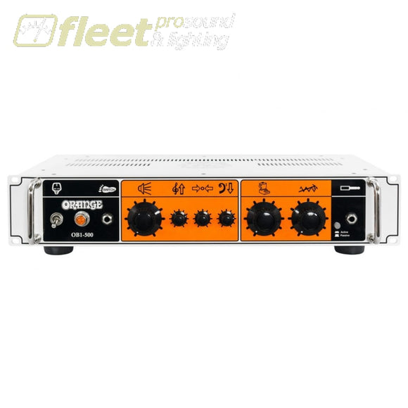 Orange OB1-500 500W Solid state rack-mountable Bass Amplifier Head BASS HEADS