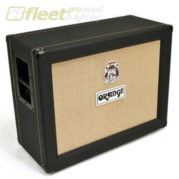 Orange Ppc212Ob-Bk 120 Watt Guitar Speaker - Black Bass Cabinets
