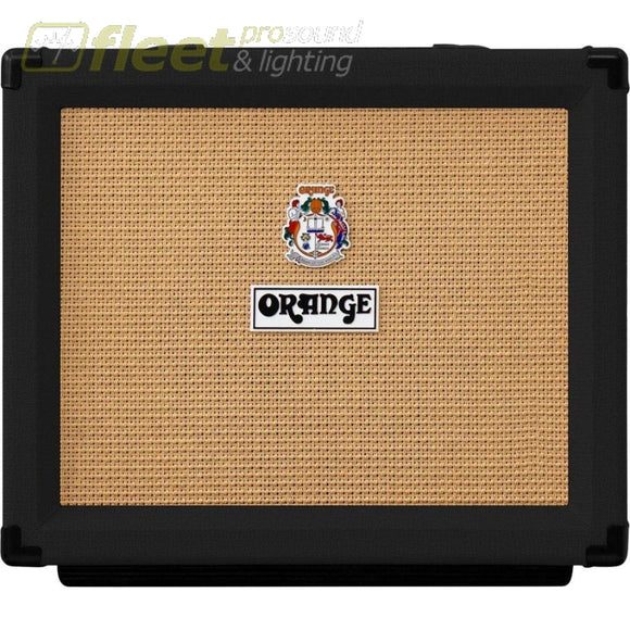 Orange Rocker 15-Bk 15 Watt El84-Switching Twin Channel Guitar Combo - Black Guitar Combo Amps