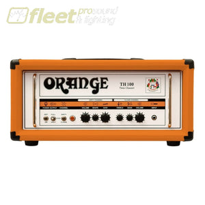 Orange Th100H 100 Watt Twin Chanel Guitar Amp Head Guitar Amp Heads