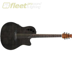 Ovation Applause Elite AE44IIP-TBKF Acoustic/Electric Guitar (Flame Maple Transparent Black) 6 STRING ACOUSTIC WITH ELECTRONICS