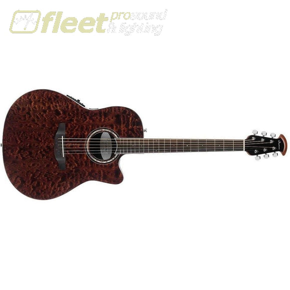 Ovation CS28P-TGE Celebrity Plus Super Shallow Acoustic-Electric Guitar Tiger Eye 6 STRING ACOUSTIC WITH ELECTRONICS