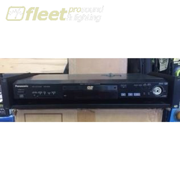 Panasonic Professional Dvd Player Dvdrv32 With Rack - Used Used Video