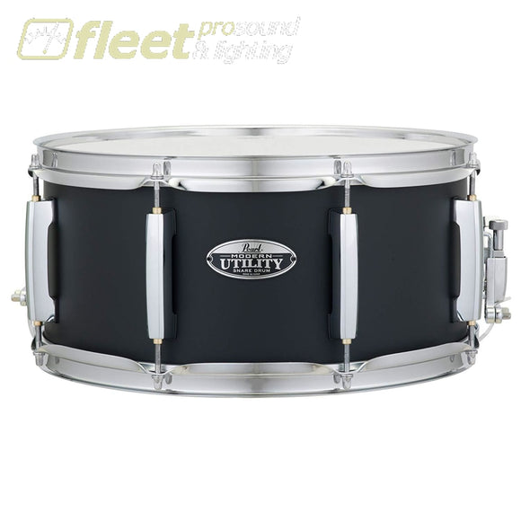 Pearl Drums Mus1465M227 Maple 14X 6.5 Snare- Satin Black Finish Snares