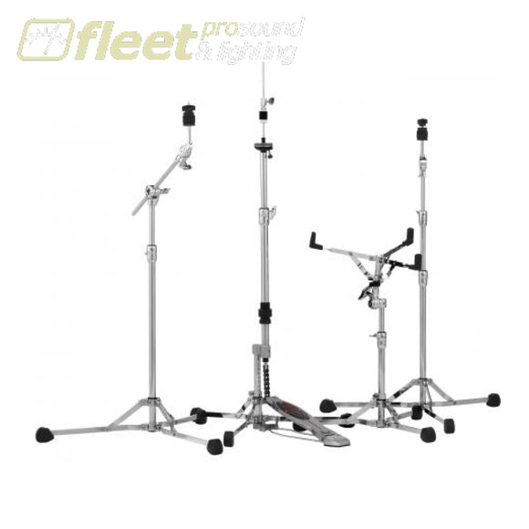 Pearl HWP-150S Convertible Flat Base Hardware Pack - Snare Straight Boom & Hi Hat HARDWARE PACKAGES