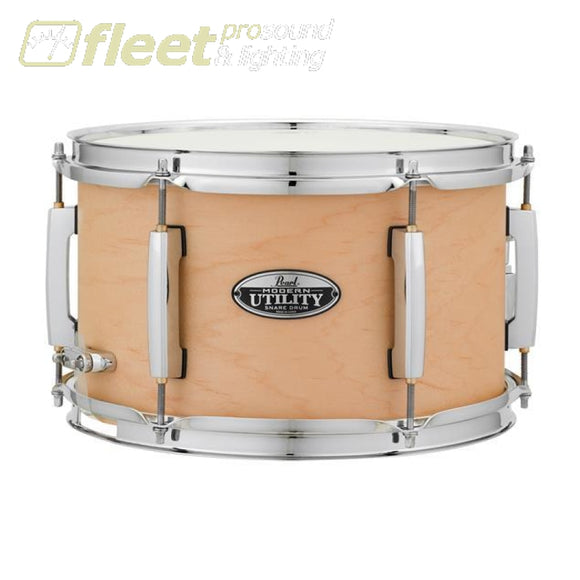 PEARL Modern Utility 12x7 Maple Snare Drum Matte Natural SNARES