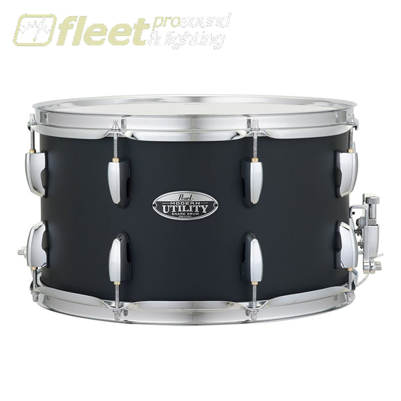 PEARL Modern Utility 14x8 Maple Snare Drum Satin Black SNARES