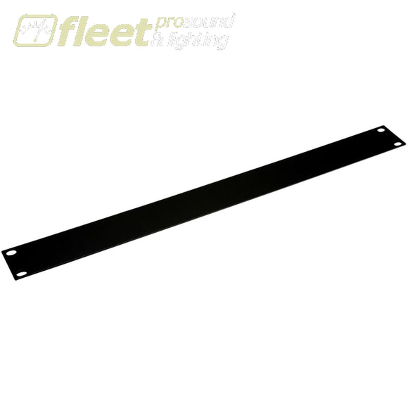 Penn R 1285/1Uk 1 U Steel Blank Rack Panel - Black Rack Hardware