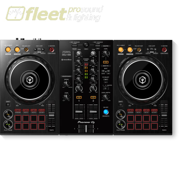Pioneer DDJ-400 2-Channel Software Controller for Rekordbox DJ DJ INTERFACES