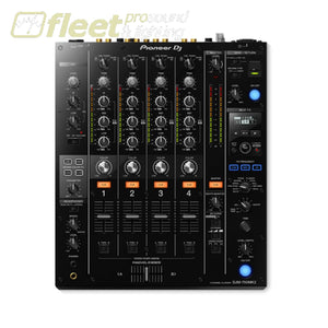 Pioneer Djm-750Mk2 4 Channel Pro Dj Mixer With Effects Boost - Black Dj Mixers
