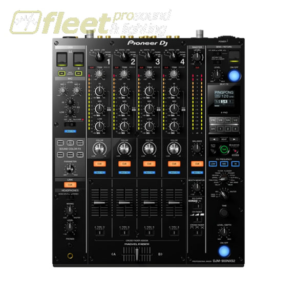 Pioneer Djm-900Nxs2 4 Channel Pro Dj Mixer With X-Pad Control Bar - Black Dj Mixers
