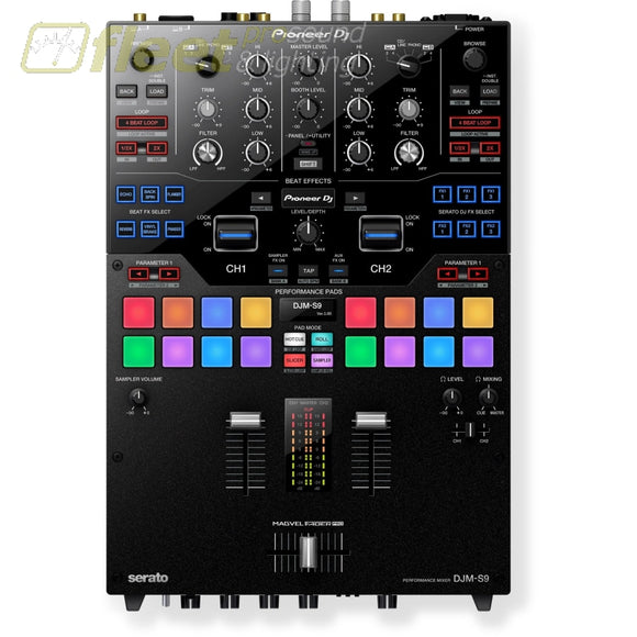Pioneer Djm-S9 Professional 2-Channel Battle Mixer (Black) Dj Mixers