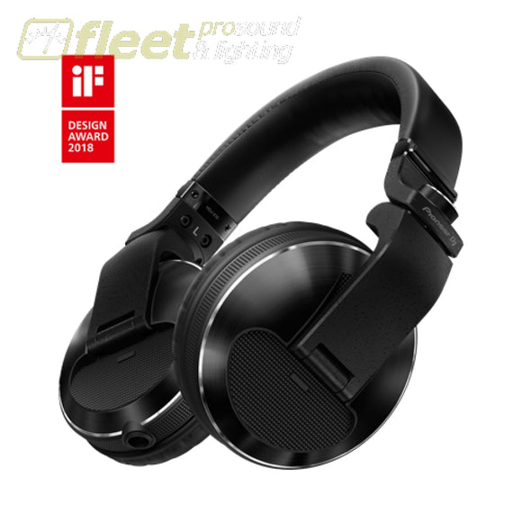 Pioneer Hdj-X10-K Reference Dj Headphones With Detachable Cord - Black Dj Headphones