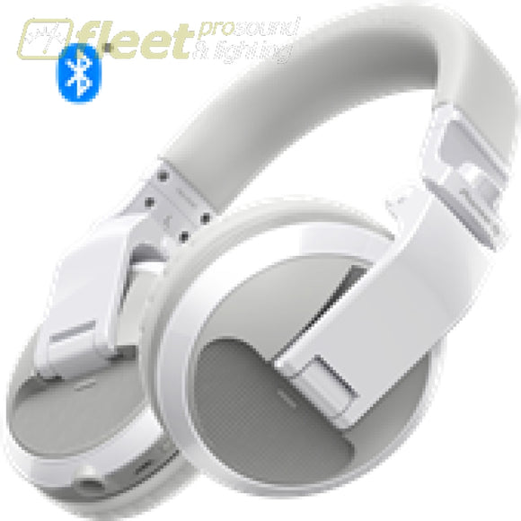 Pioneer Hdj-X5Bt-W Bluetooth Version Of Hdj-X5 In White Dj Headphones