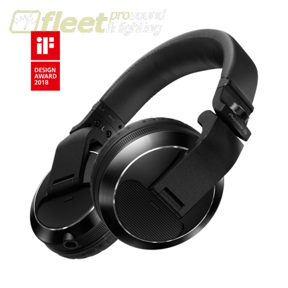 Pioneer Hdj-X7-K Reference Dj Headphones With Detachable Cord - Black Dj Headphones