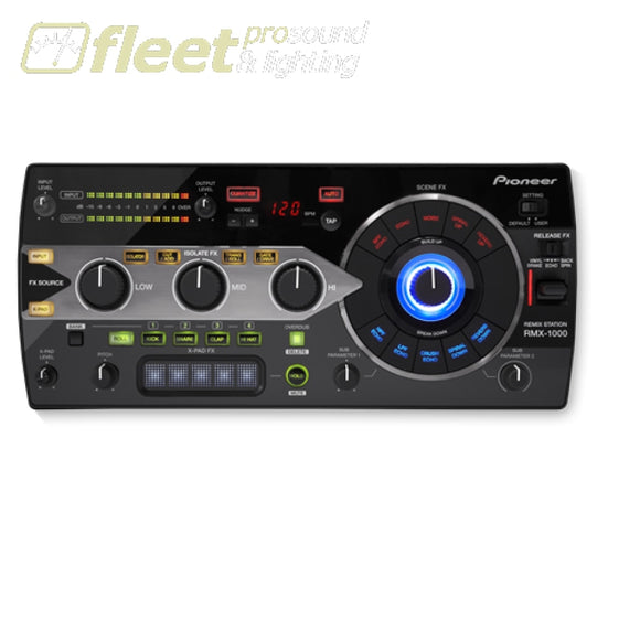Pioneer RMX-1000-K Remix Station Effects Unit with X-Pad FX- Black DJ MIXERS