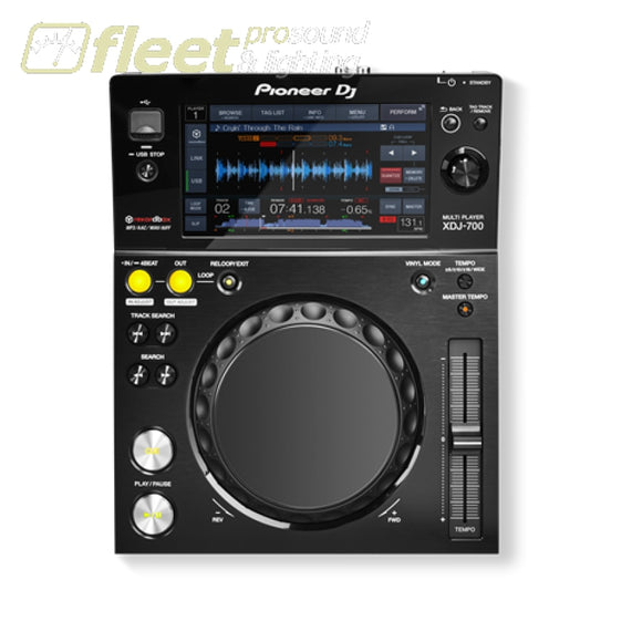 Pioneer Dj Xdj-700 Professional Omnimedia Player W/ Rekordbox - Black Table Top Cd Players