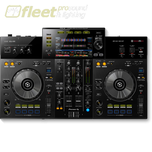 Pioneer Xdj-Rr 2-Channel All-In-One Dj Controller For Rekordbox Dj Interfaces