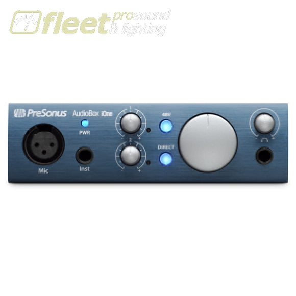 Presonus AudioBox iOne USB/iPad Audio Interface for Guitarists and Songwriters USB AUDIO INTERFACES
