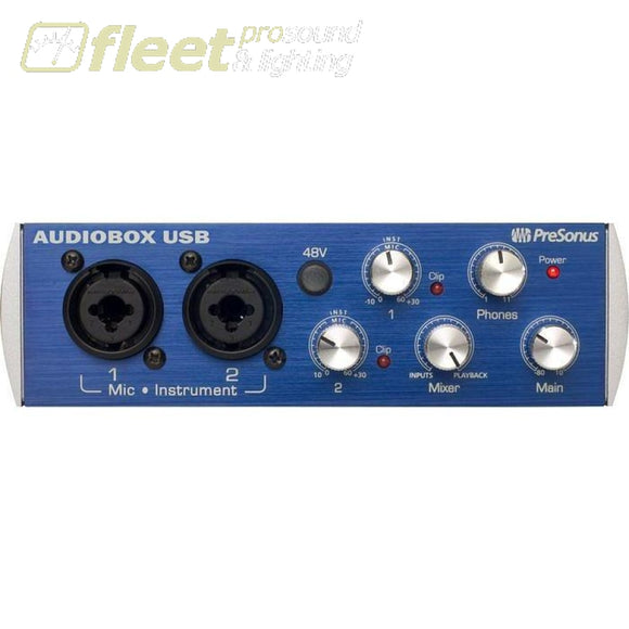 Presonus Audioboxusb 2-Channel Usb Interface Usb Audio Interfaces