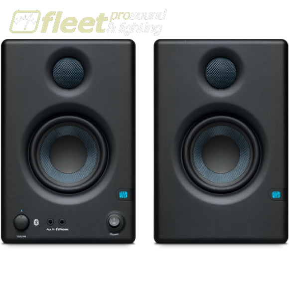 PreSonus Eris E3.5 BT Active Media Reference Monitor with Bluetooth POWERED STUDIO MONITORS - FULL RANGE