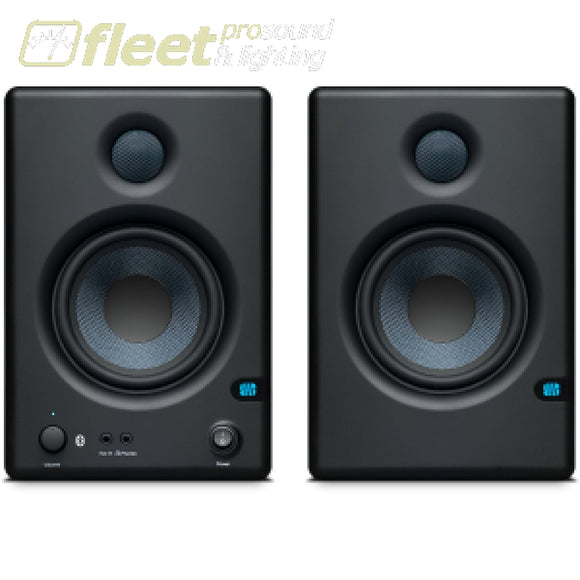 PreSonus Eris E4.5 BT: Active Media Reference Monitors with Bluetooth POWERED STUDIO MONITORS - FULL RANGE