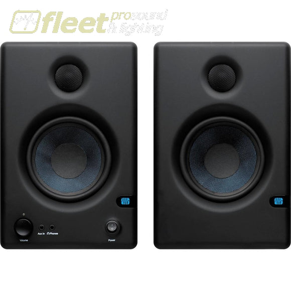 PreSonus Eris E4.5 Hi-Definition 2-Way 4.5 Nearfield Monitors POWERED STUDIO MONITORS - FULL RANGE