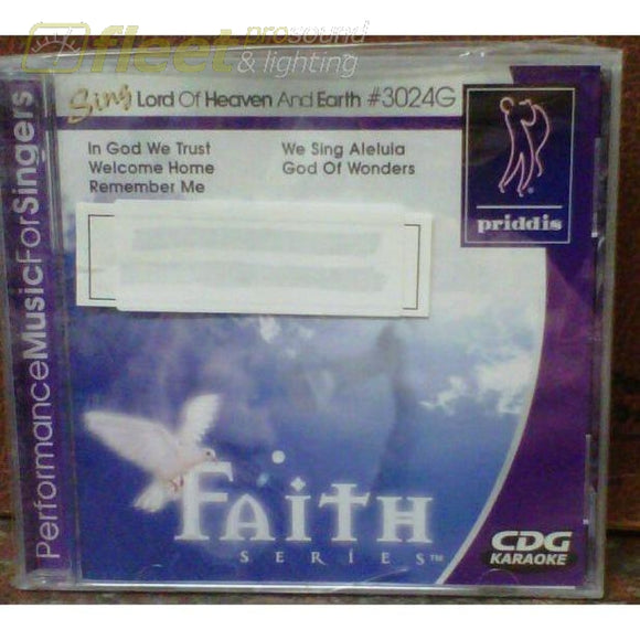 Priddis Pr3024 Lord Of Heaven And Earth Karaoke Discs