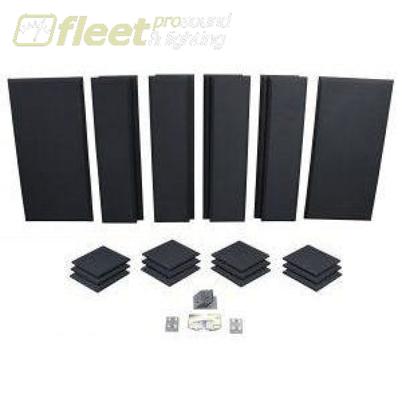 Primacoustic London 12 Acoustic Panel Kit - Black Acoustic Treatments & Control