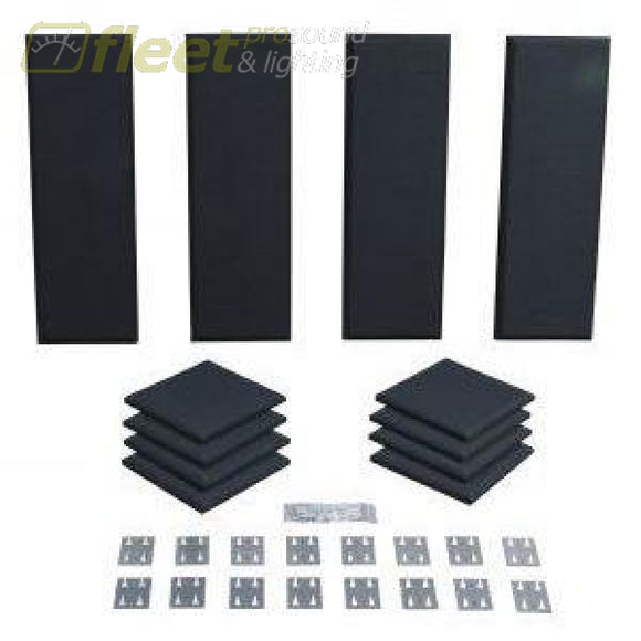 Primacoustic London 8 Acoustic Panel Kit - Black Acoustic Treatments & Control