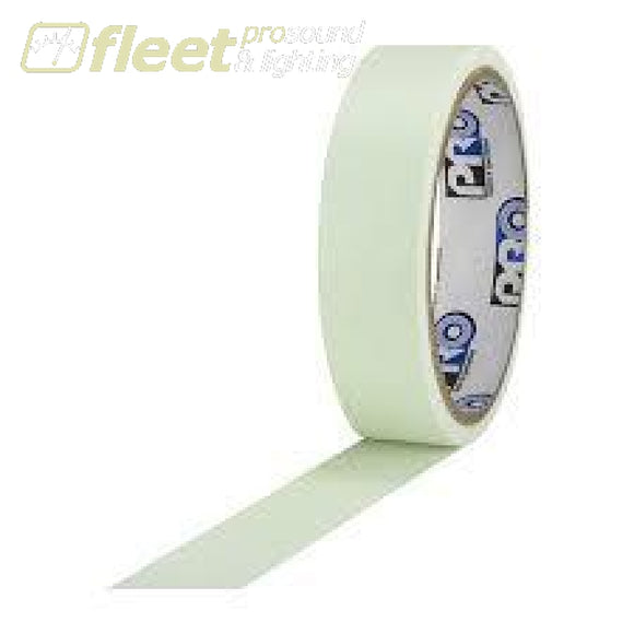 Pro Tape PROGLOW-1X5 Glow in the Dark Tape 1 x 5 Yard Roll GAFFER TAPES