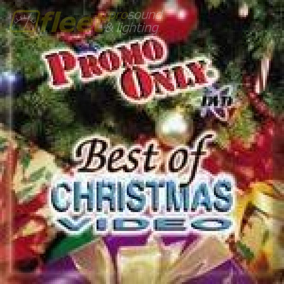 Promo Only Christmas Video Dvd Music Cds