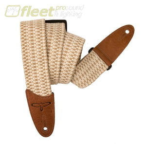 PRS ACC-3168 Guitar Strap - Woven White & Brown STRAPS