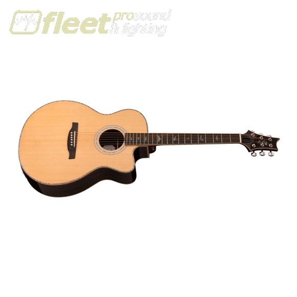 PRS AE60ENA Angelus Acoustic Cutaway Guitar w/ electronics and case - Natural 6 STRING ACOUSTIC WITH ELECTRONICS