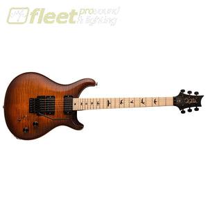 PRS Dustie Waring DW CE 24 Floyd Electric Guitar - Burnt Amber Smokeburst (106185:B8:V01) LOCKING TREMELO GUITARS