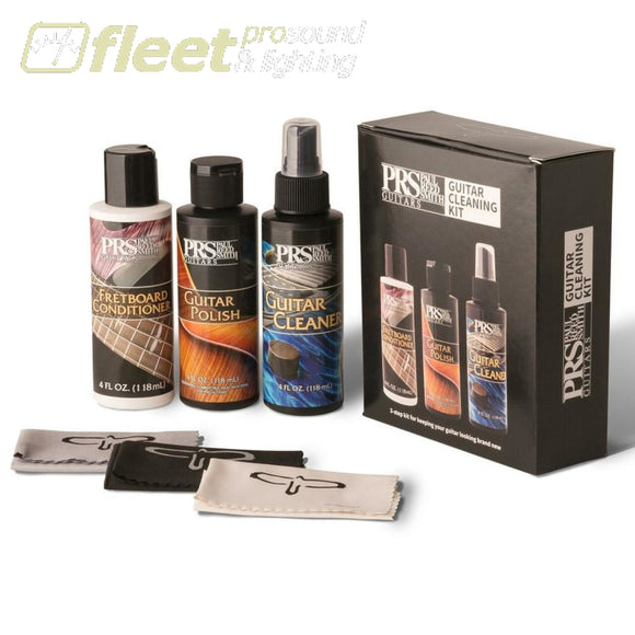 PRS Guitar Care Kit with polish and cloths - ACC-12384 GUITAR CARE ACCESSORIES