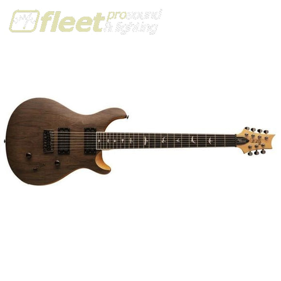 PRS SE Mark Holocomb MH7WSANA 7 String Guitar - Walnut/Satin (2020 Model) 7 & 8 STRING GUITARS