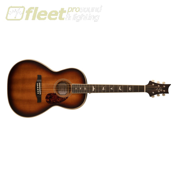 PRS SE PPE20SATS Parlor Acoustic Guitar w/ Fishman pickup - Tobacco Sunburst (2021 Model) 6 STRING ACOUSTIC WITH ELECTRONICS