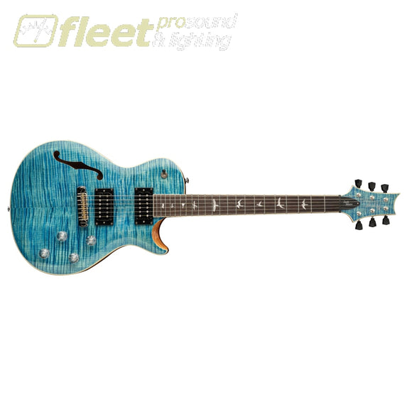PRS SE Zach Myers ZM3MC Rosewood Fretboard Guitar - Myers Blue (2021 Model) SOLID BODY GUITARS