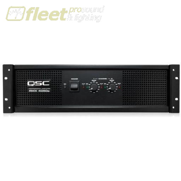 QSC RMX4050a 2 Channel Power Amp AMPLIFIERS-PROFESSIONAL