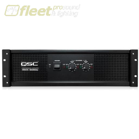 QSC RMX5050a 2 Channel Power Amp AMPLIFIERS-PROFESSIONAL