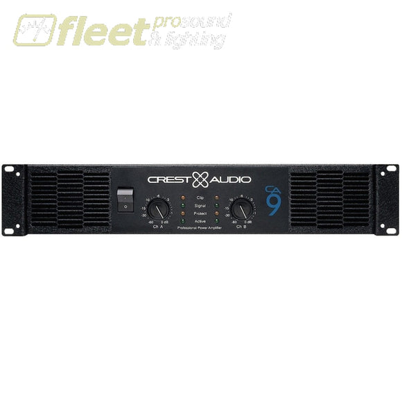 R-Ca9 Power Amplifier ***price Listed Is For One Day Rental. Amplifiers-Professional