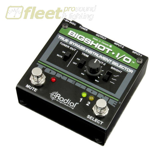 Radial Bigshot I/o Instrument Switcher Guitar Switcher Pedals