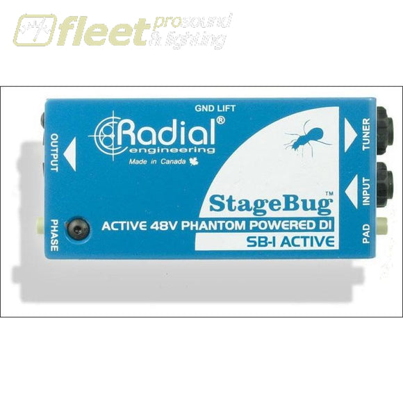 Radial Stagebug Sb-1 Active Acoustic Direct Box Di Boxes