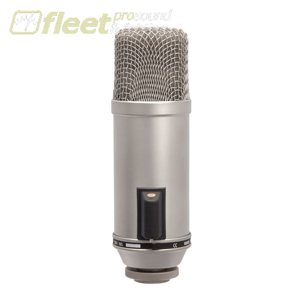 Rode Broadcaster End-Address Broadcast Condenser Microphone LARGE DIAPHRAGM MICS
