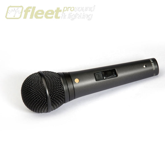 Rode M1-S Live Performance Dynamic Microphone with Lockable Switch VOCAL MICS